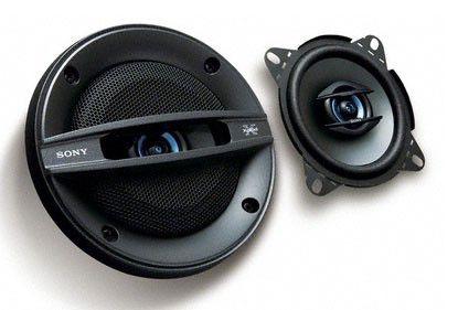 Колонки автомобильные SONY XS-F1027SE,  коаксиальные,  130Вт