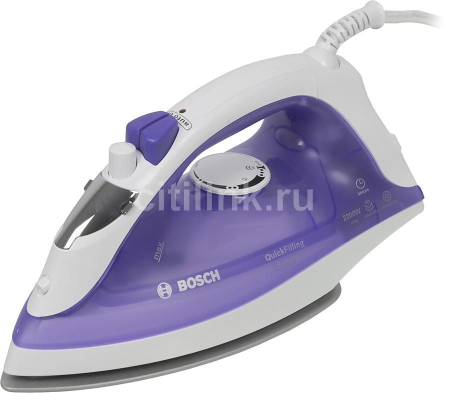 Утюг BOSCH TDA2377,  2200Вт,  фиолетовый