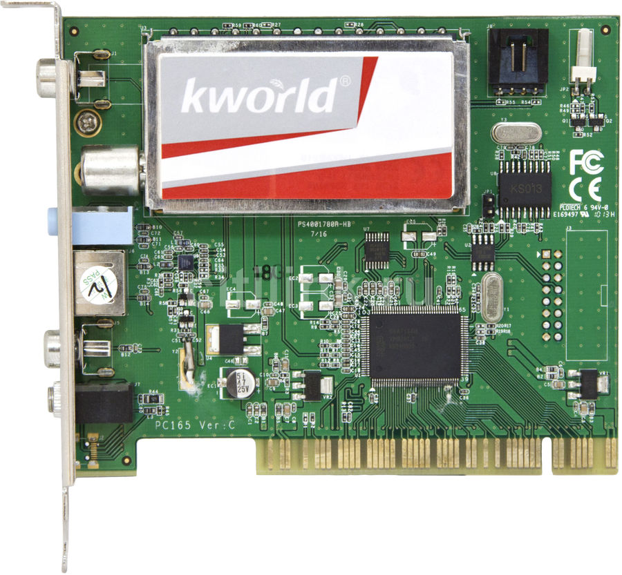 ТВ-тюнер KWORLD KW-PC165-A RDS,  внутренний