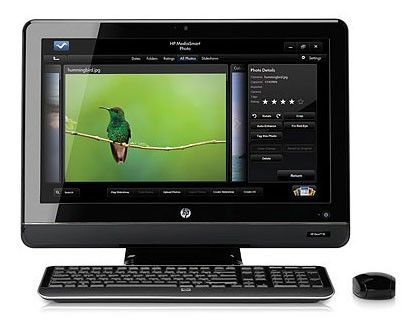 Моноблок HP Omni 200-5315ru, Intel Core i3 550, 4Гб, 1Тб, nVIDIA GeForce G210 - 512 Мб, DVD-RW, Windows 7 Professional, черный [xt115ea]