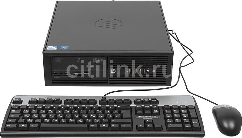 Компьютер  HP Pro 4000,  Intel  Celeron  E3400,  DDR3 2Гб, 500Гб,  Intel GMA 4500,  DVD-RW,  CR,  Windows 7 Professional,  черный [xy087es]