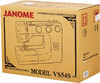 Швейная машина JANOME VS54S белый вид 10