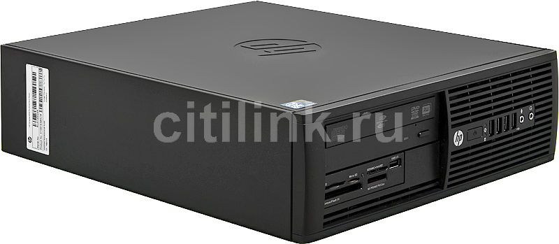 Компьютер  HP Pro 4000 SFF,  Intel  Core2 Duo  E7500,  DDR3 4Гб, 500Гб,  Intel GMA 4500,  DVD-RW,  CR,  Free DOS,  черный [xy091es]