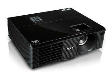 Проектор ACER X110P(3D) черный [ey.jbu01.050]