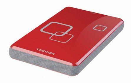 Внешний жесткий диск TOSHIBA STOR.E ART3, 500Гб, красный [e05a050pau2er_c]