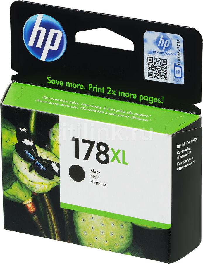 Картридж HP 178XL CN684HE,  черный