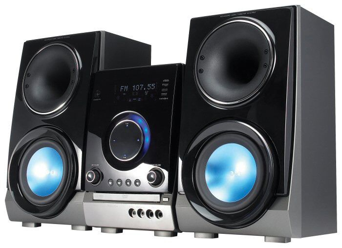 Музыкальный центр LG RBD-154,  черный