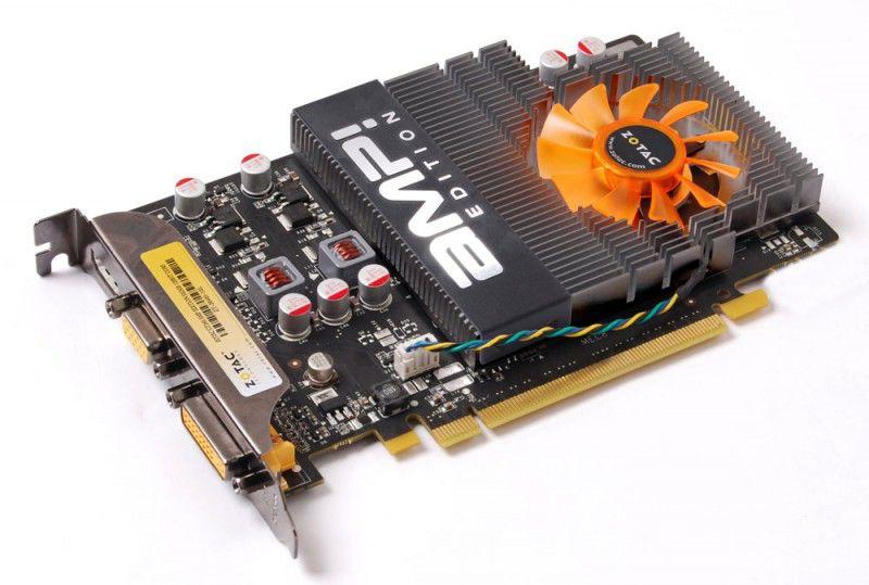 Видеокарта ZOTAC GeForce GT 240,  512Мб, GDDR5, OC,  Ret [zt-20405-10l]
