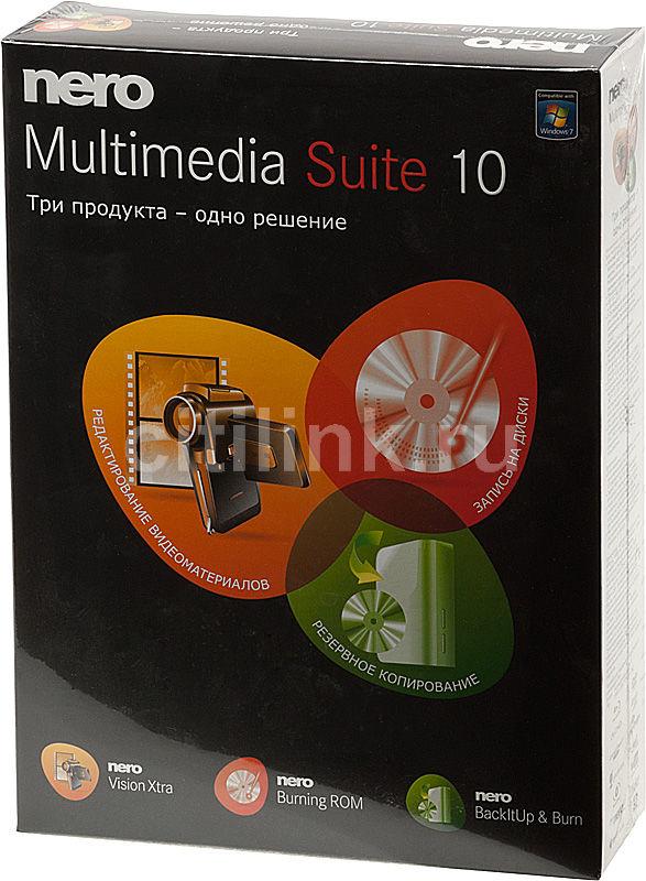 ПО Nero 10 Multimedia Suite BOX (4030764040086)