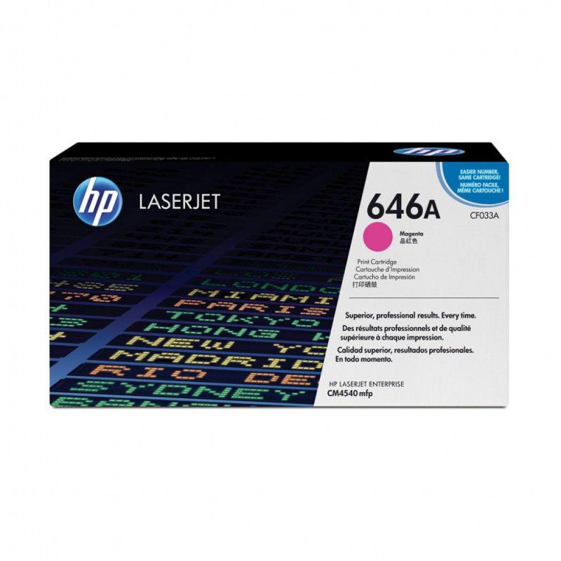 Картридж HP CF033A пурпурный
