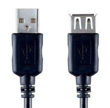 Кабель-удлинитель USB2.0 BANDRIDGE USB A (m) -  USB A (f),  2м [vcl4302]