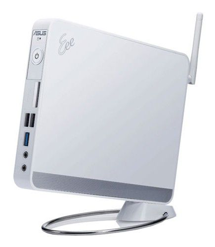 Неттоп  ASUS EeeBox PC EB1012P,  Intel  Atom  D510,  DDR2 2Гб, 250Гб,  nVIDIA G218-ION,  без ODD,  CR,  Free DOS,  белый [90pe2aa11113l0149c0q]