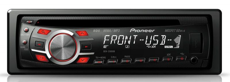 Автомагнитола PIONEER DEH-2300UB,  USB