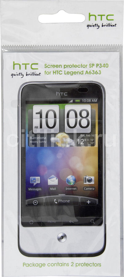 Защитная пленка HTC SP-P340  для HTC Legend,  прозрачная, 2 шт