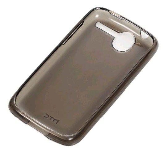 Чехол (клип-кейс) HTC TP C520, для HTC Desire, черный
