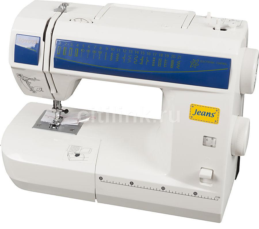 Швейная машина TOYOTA Jeans JS 121 белый