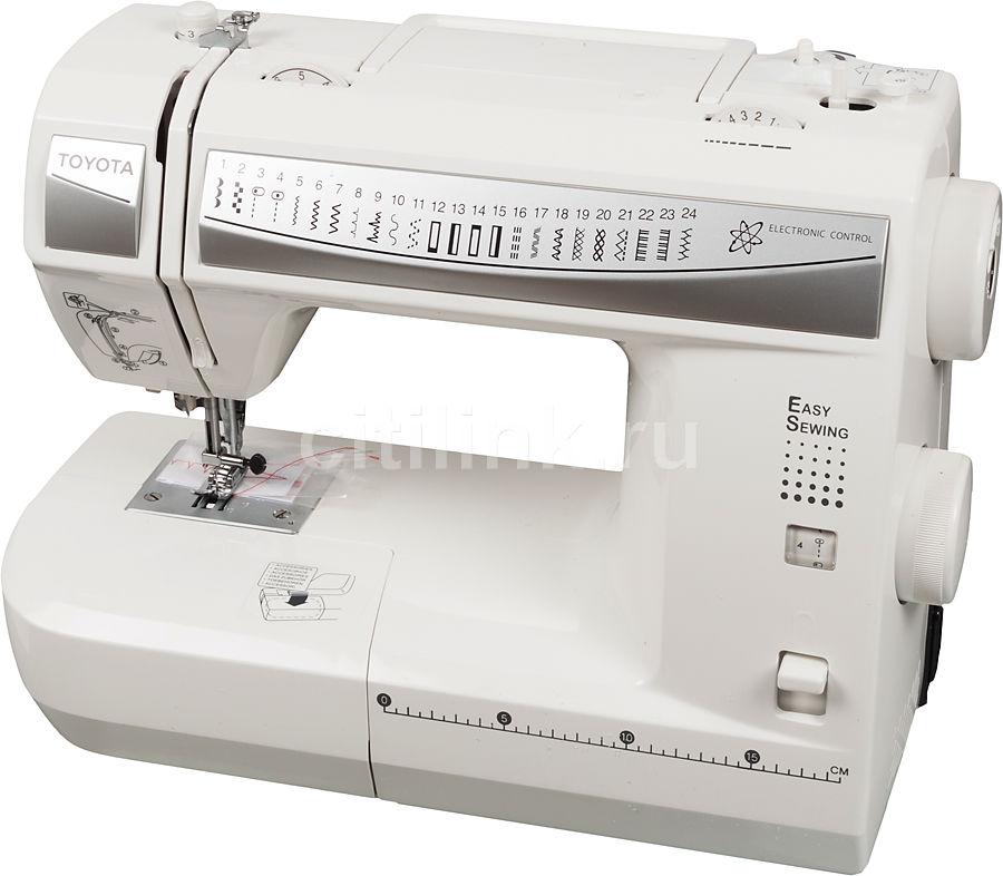 Швейная машина TOYOTA Easy Sewing ES 224 белый