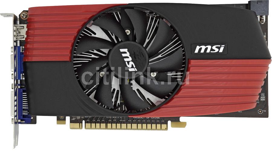 Видеокарта MSI GeForce GTS 450,  1Гб, GDDR5, oem [n450gts-md1gd5]
