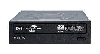 Оптический привод DVD-RW HP DVD1270I, внутренний, SATA, черный,  Ret