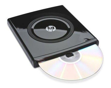 Оптический привод DVD-RW HP DVD565S, внешний, USB, черный,  Ret