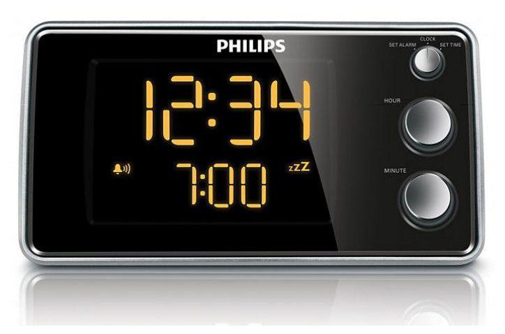 Радиобудильник PHILIPS AJ3551/12, черный