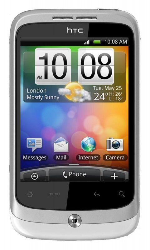 Коммуникатор HTC A3333 Wildfire белый
