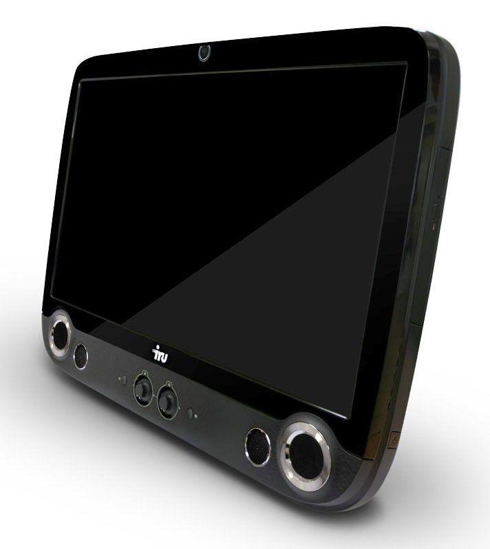 Моноблок IRU 301, Intel Core i3 370M, 2Гб, 500Гб, nVIDIA GeForce 310 - 512 Мб, DVD-RW, Windows 7 Home Basic, черный