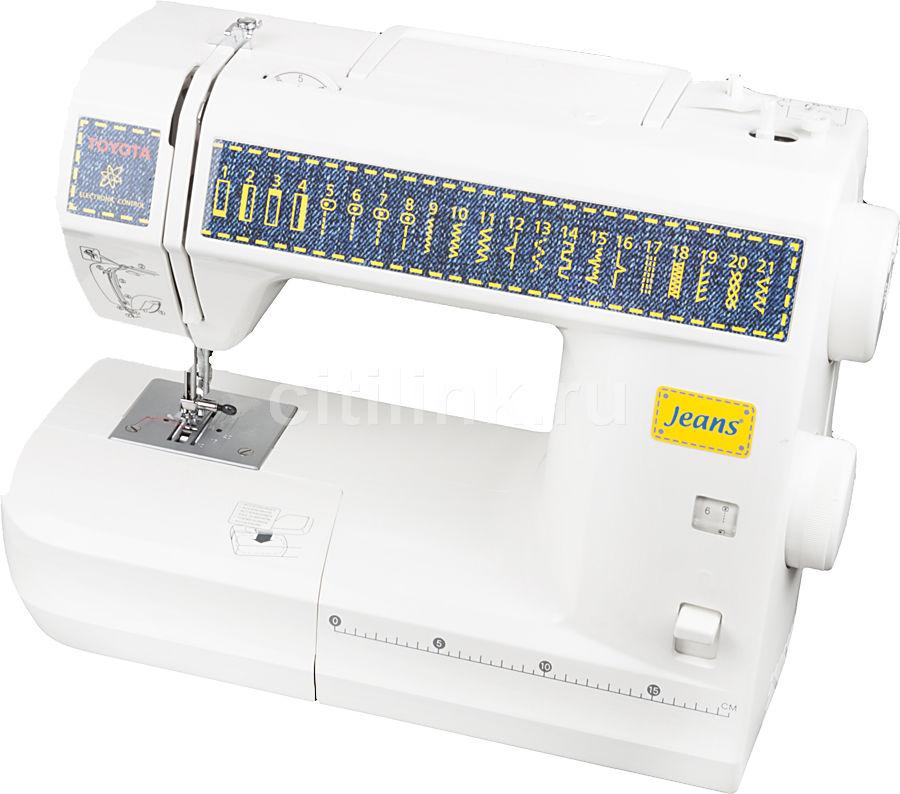 Швейная машина TOYOTA Jeans JS 021 белый