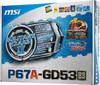 Материнская плата MSI P67A-GD53 (B3) LGA 1155, ATX, Ret вид 6