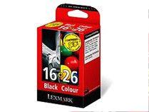 Набор картриджей LEXMARK 80D2126 многоцветный / черный