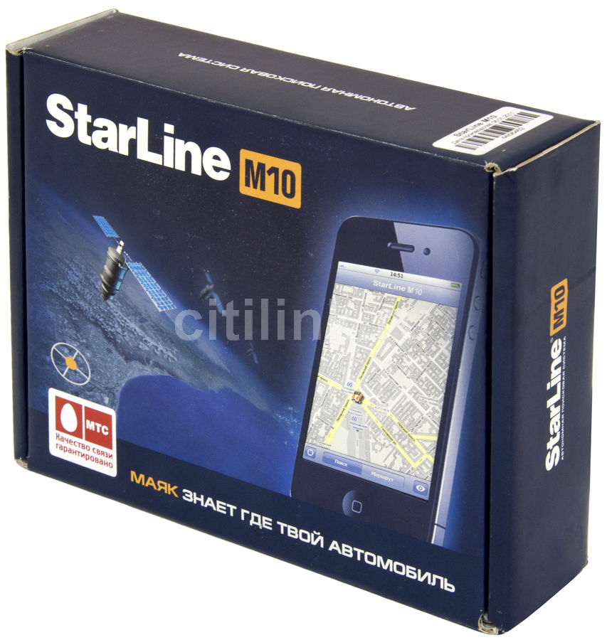 Поисковая система STARLINE M10