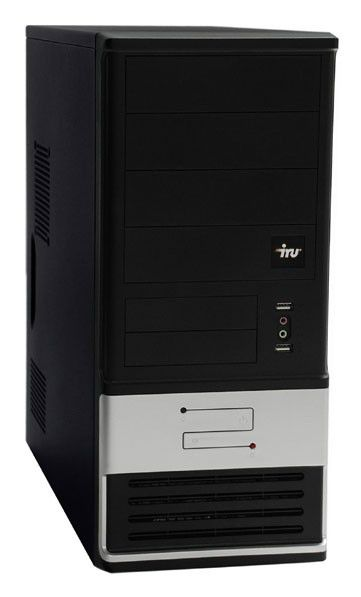 ПК iRU Home 510 i5-650/3072/ 500/HD5750-512//DVD-RW/CR/W7-HB/black