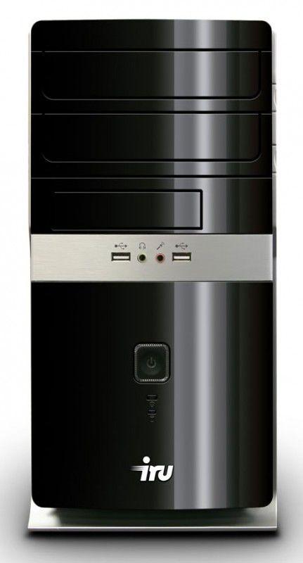 IRU Home 320,  AMD  Athlon II X2  255,  DDR2 4Гб, 500Гб,  nVIDIA GeForce GT440 - 1024 Мб,  DVD-RW,  CR,  Windows 7 Home Basic,  черный