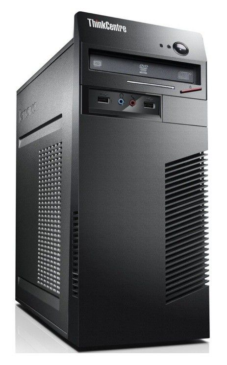 Компьютер  LENOVO ThinkCentre M70e,  Intel  Pentium  E5500,  DDR3 2Гб, 250Гб,  Intel GMA 4500,  DVD-RW,  Windows 7 Professional,  черный [0830r13]