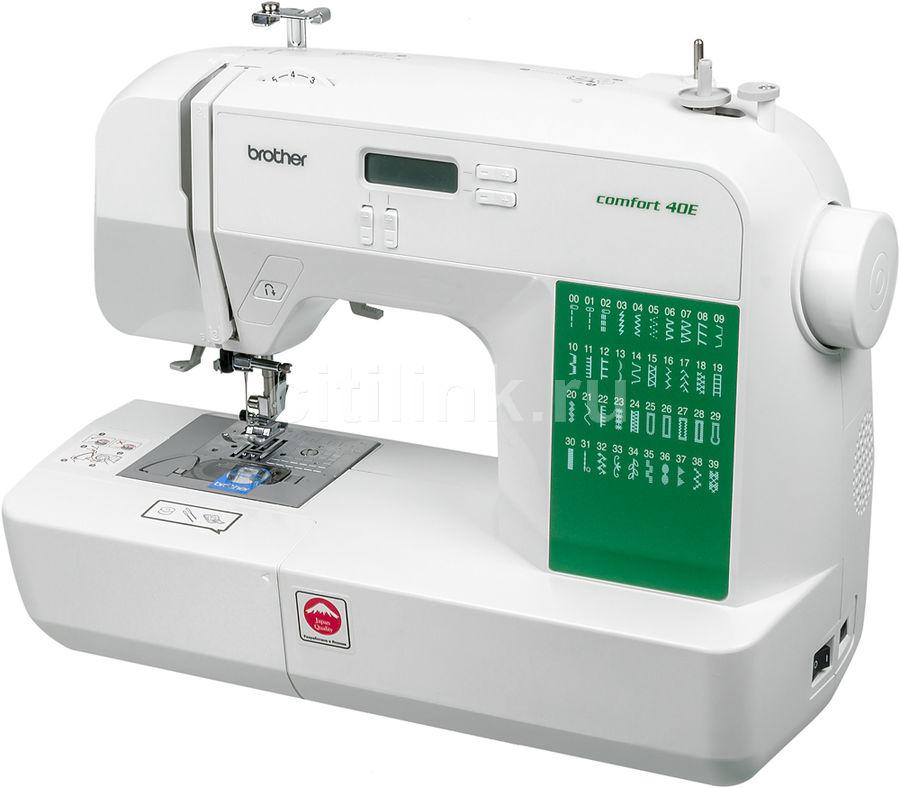 Швейная машина BROTHER Comfort 40E белый