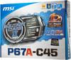 Материнская плата MSI P67A-C45(B3) LGA 1155, ATX, Ret вид 6