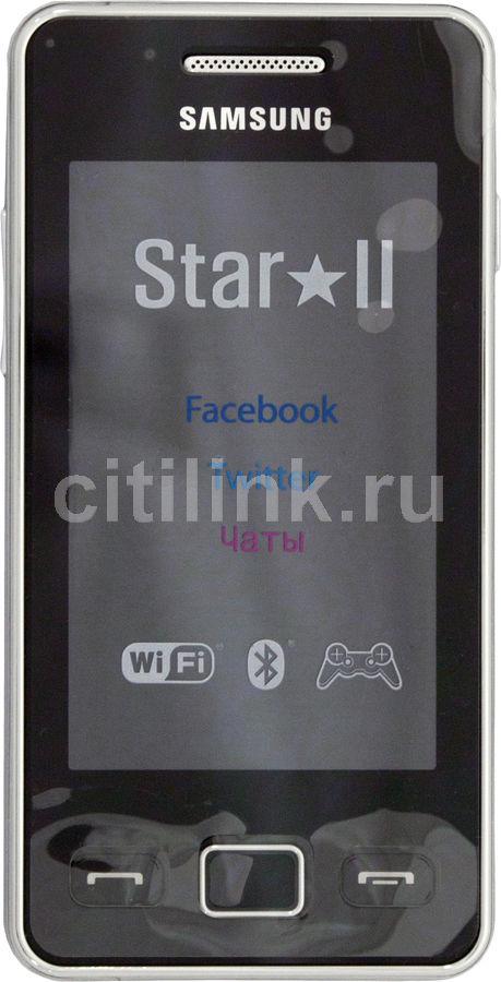 Мобильный телефон SAMSUNG Star II GT-S5260  черный