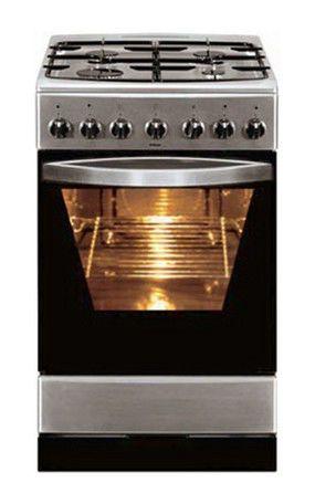 Газовая плита HANSA FCMX58012030,  электрическая духовка,  серебристый