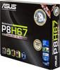 Материнская плата ASUS P8H67(3.x) LGA 1155, ATX, Ret вид 6