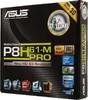 Материнская плата ASUS P8H61-M PRO(3.x) LGA 1155, mATX, Ret вид 6