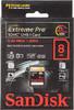 Карта памяти SDHC SANDISK Extreme Pro 8 ГБ, 300X, SDSDXP1-008G-X46,  1 шт. вид 1