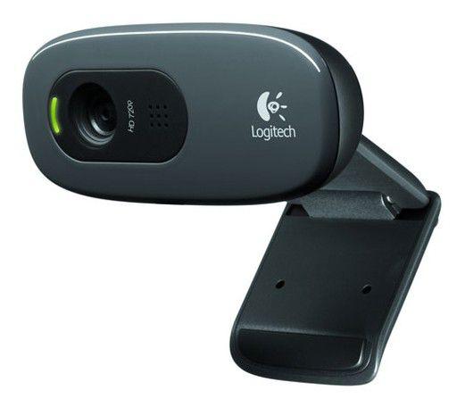 Web-камера LOGITECH HD Webcam C270,  черный [960-000635]
