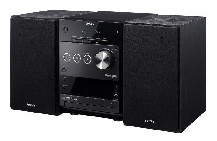 Музыкальный центр SONY CMT-DX400,  черный