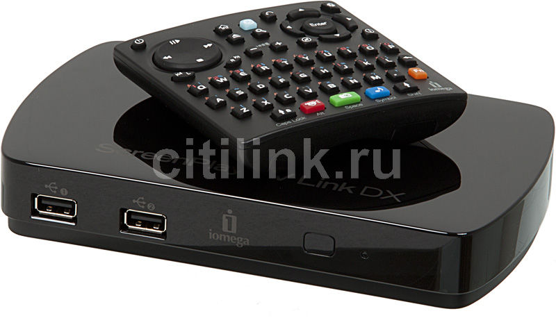 Медиаплеер IOMEGA ScreenPlay TV Link DX,  черный