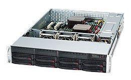 Сервер iRU Rock 2113R 1xE5506/8GbRD/4x500/Raid6/DVDRW/563W/2U