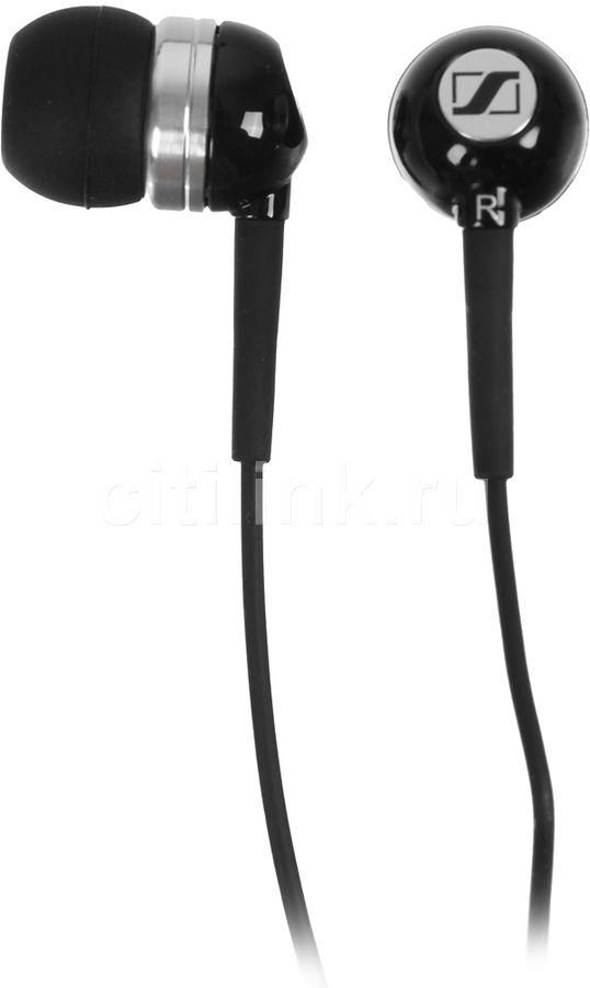 Наушники SENNHEISER CX 300-II Precision, вкладыши,  черный, проводные