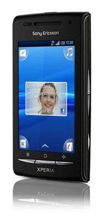 Смартфон SONYERICSSON Xperia X8i E15i  черный/красный