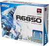 Видеокарта MSI Radeon HD 6850,  1Гб, GDDR5, OC,  Ret [r6850-cyclone 1g/d5 oc] вид 7