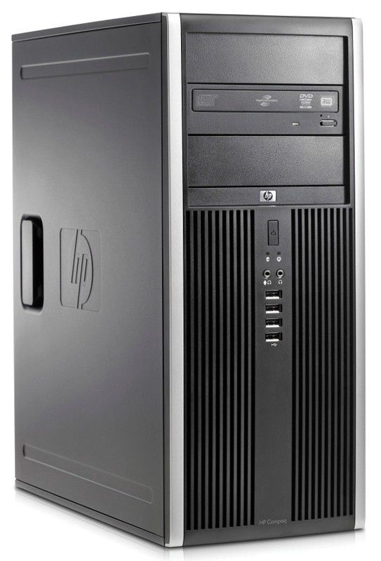 HP Elite 8200,  Intel  Core i3  2100,  DDR3 2Гб, 500Гб,  Intel HD Graphics,  DVD-RW,  Windows 7 Professional,  черный [xy140es]