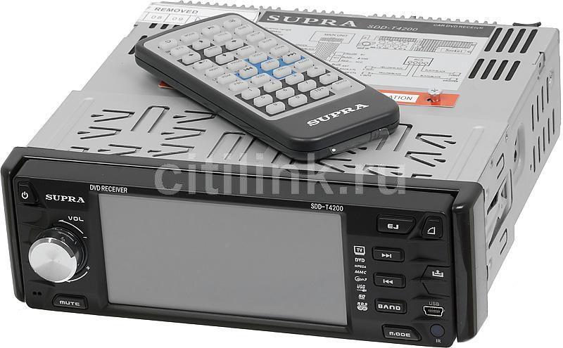 Автомагнитола SUPRA SDD-T4200,  USB,  SD/MMC